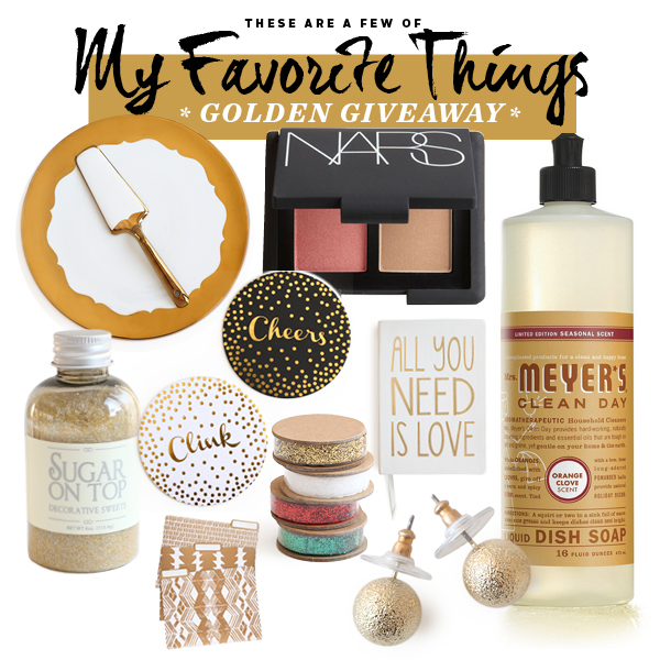 Favorite Things Giveaway FoodieCrush 600