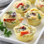 Thumbnail image for Mediterranean Mini Frittatas