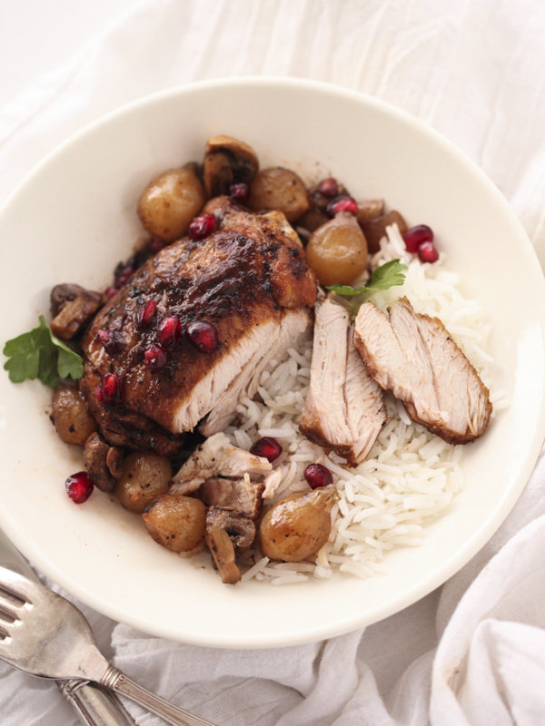 Slow Cooker Balsamic Chicken FoodieCrush.com