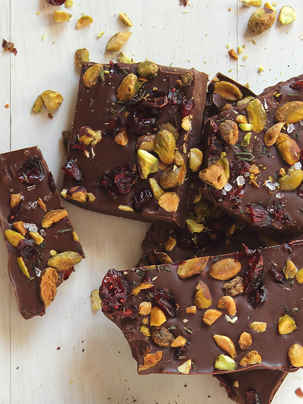 Cranberry-Pistachio-Bark