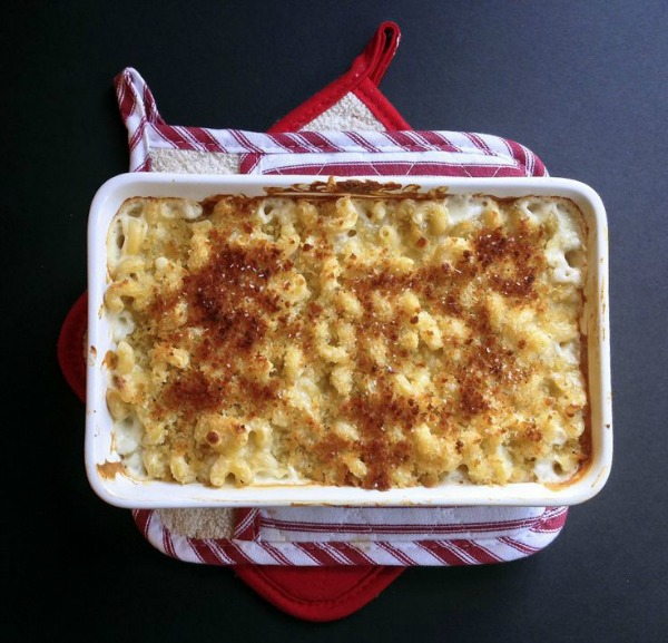 Four-Cheese Truffle Mac-and-Cheese II Yes to Yolks