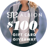 $100 Albion Fit Giveaway