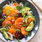 Thumbnail image for Citrus Fennel and Avocado Salad