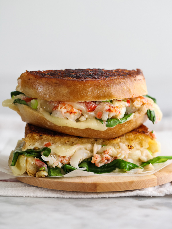 lobster sandwich, grilled cheese sandwich, foodie, seafood lovers,