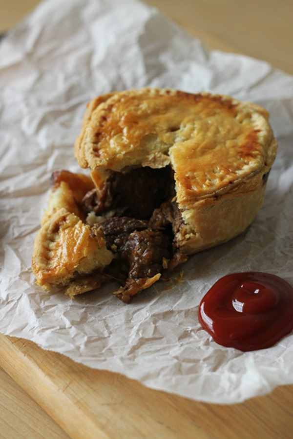 Beef and Guinness Pies II Food on Paper