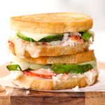 Thumbnail image for Crab and Avocado Grilled Cheese
