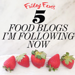 Thumbnail image for 5 Food Blogs I'm Following Now