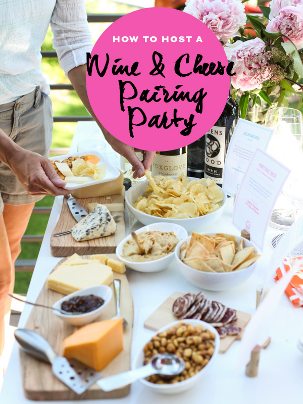 Wine and Cheese Pairing Party on foodiecrush.com