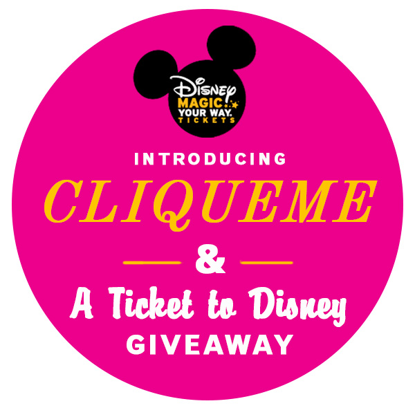 CliqueMe Disney + VISA Giveaway on FoodieCrush.com