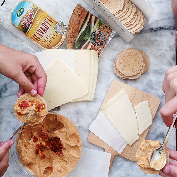 Havarti and Crackers on foodiecrush.com