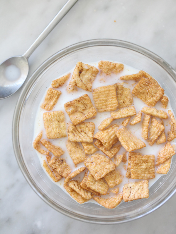 Cinnamon Toast Crunch Milkshake foodiecrush.com