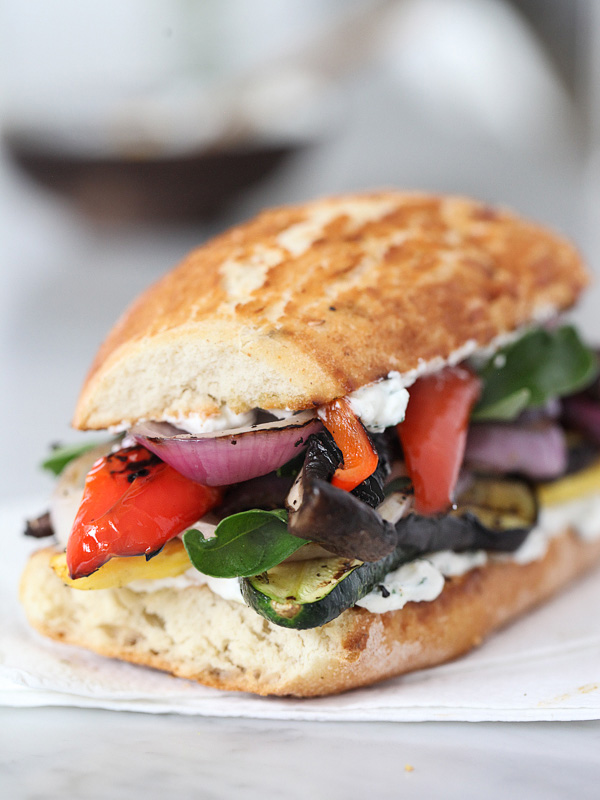 "Summer Squash And Fresh Ricotta ""Sandwiches"" Recipe — Dishmaps"