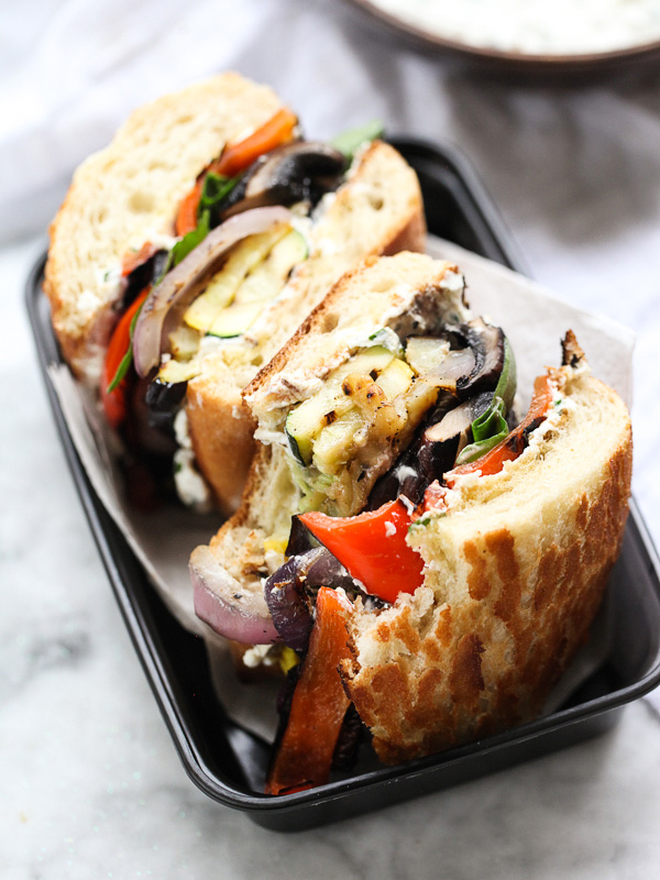 lunch food delivery vegetarian sandwich