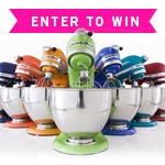 Because It's Summer KitchenAid 5-Quart Stand Mixer Giveaway