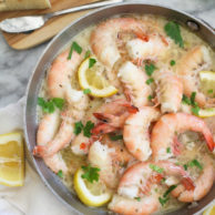 Peel n Eat Beer Steamed Shrimp #recipe on foodiecrush.com-099