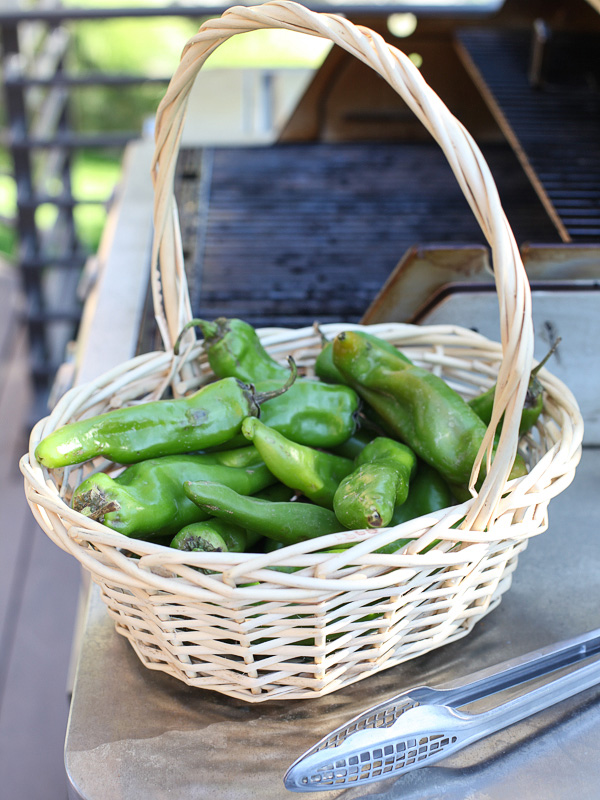 How to roast chile peppers on foodiecrush.ccom
