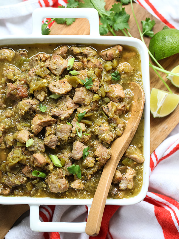 Mexican pork chili verde recipe