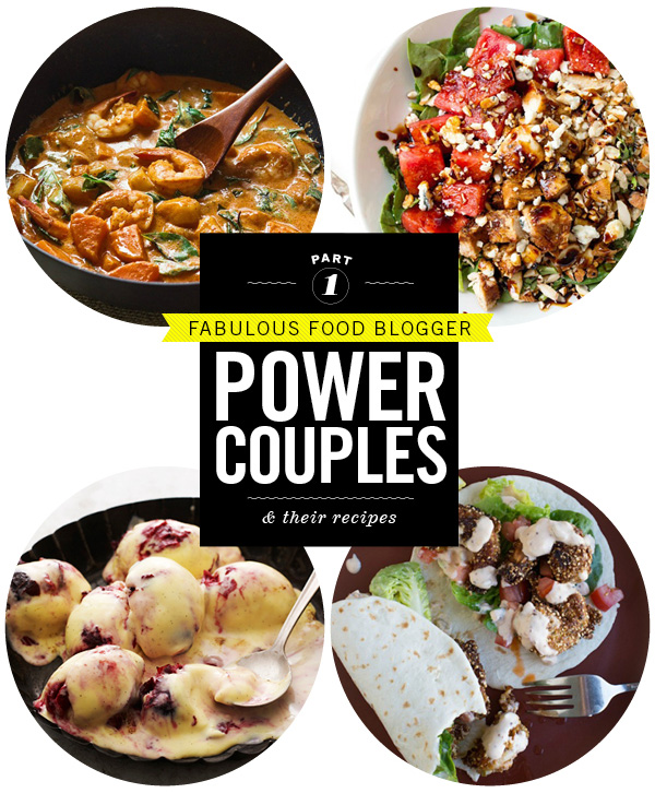 Food Blogger Power Couples Part 1 on foodiecrush.com