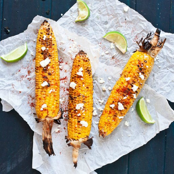 Mexican Grilled Corn on the Cob (Elote) from Confessions of a Foodie ...