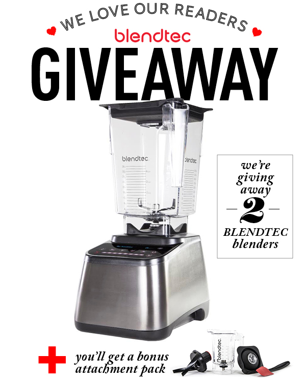 Reader Appreciation Blendtec Giveaway