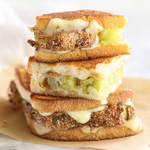 Thumbnail image for Fried Green Tomatoes Grilled Cheese Sandwich