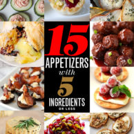 15 Appetizers