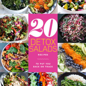 20 Detox Salads to Put You Back On Track