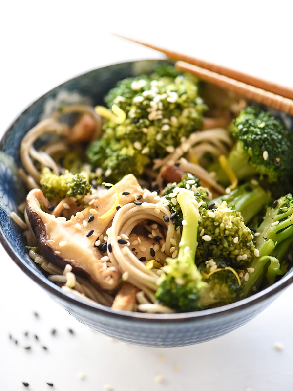... peanut soba noodles with broccoli and red pepper recipes dishmaps