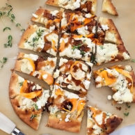Sweet Potato and Caramelized Onion Pizza