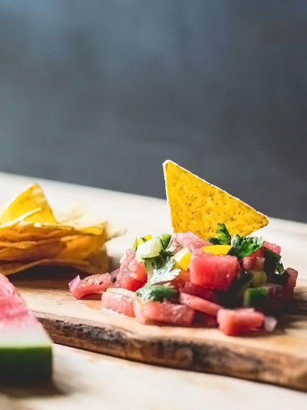 Watermelon Salsa sweetgreen.tumbler.com | foodiecrush.com
