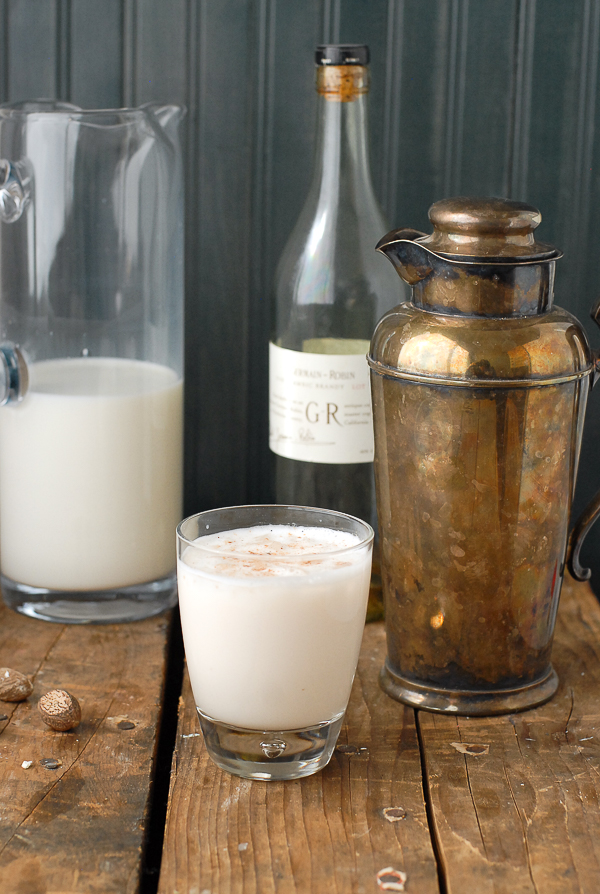 Classic New Orleans Brandy Milk Punch from Boulder Locavore on foodiecrush.com