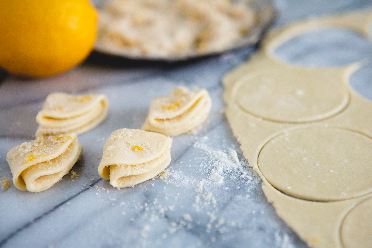 Meyer Lemon Cottage Cheese Sugar Cookies by Food for My Family on foodiecrush.com