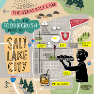 Food Bloggers' Guide of Where to Eat In Salt Lake City | foodiecrush.com