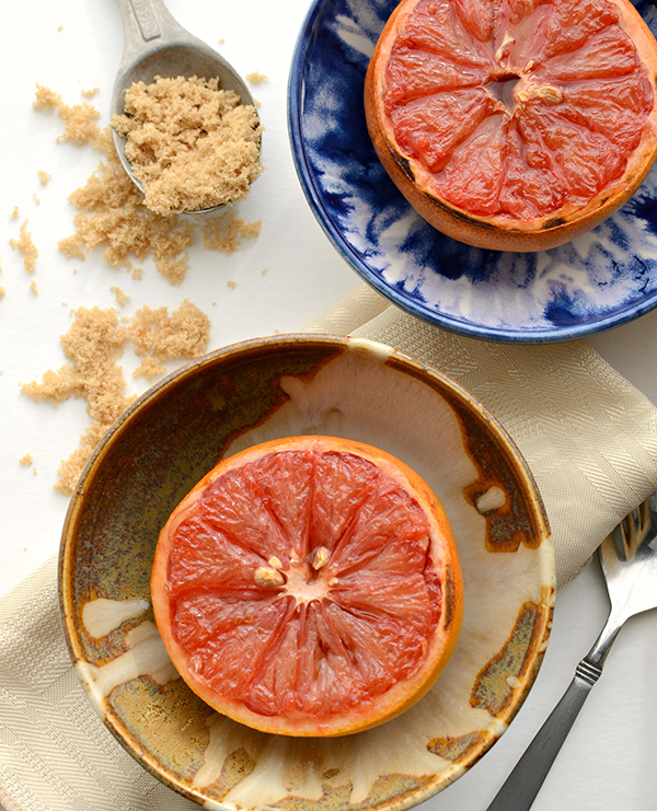 Broiled Grapefruit from Bless This Mess on foodiecrush.com