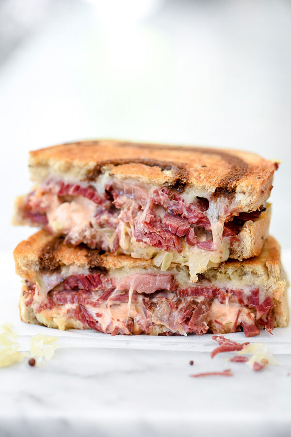 My Favorite Reuben Sandwich Recipe | foodiecrush.com