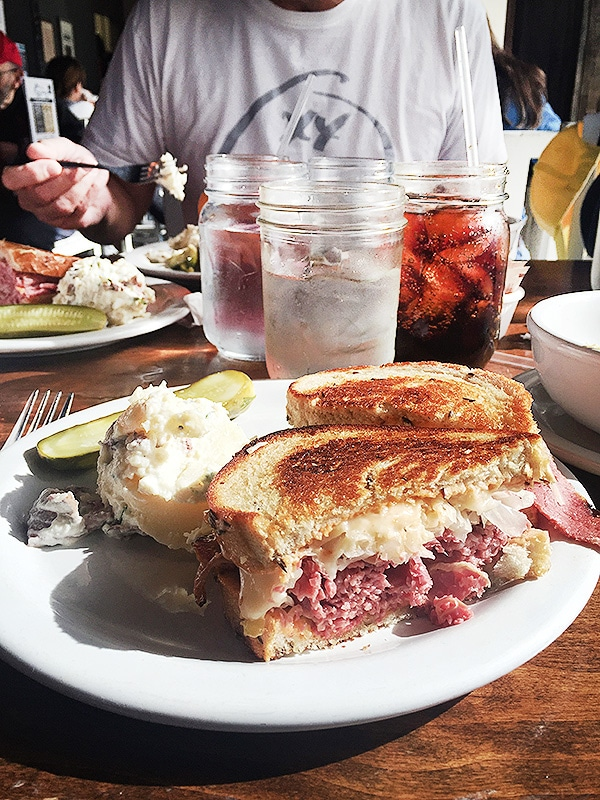 Feldmans Deli Salt Lake City UT | foodiecrush.com