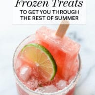 33 Boozy Frozen Treats to Get You Through the Rest of Summer
