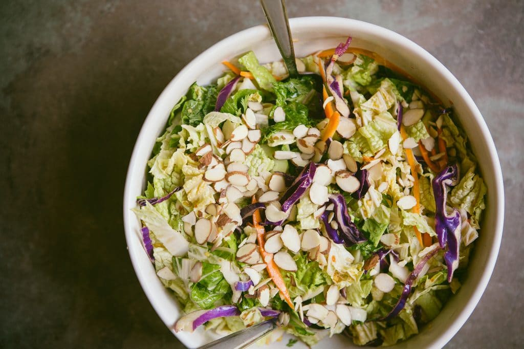 Chinese Napa Cabbage Salad by Food for My Family