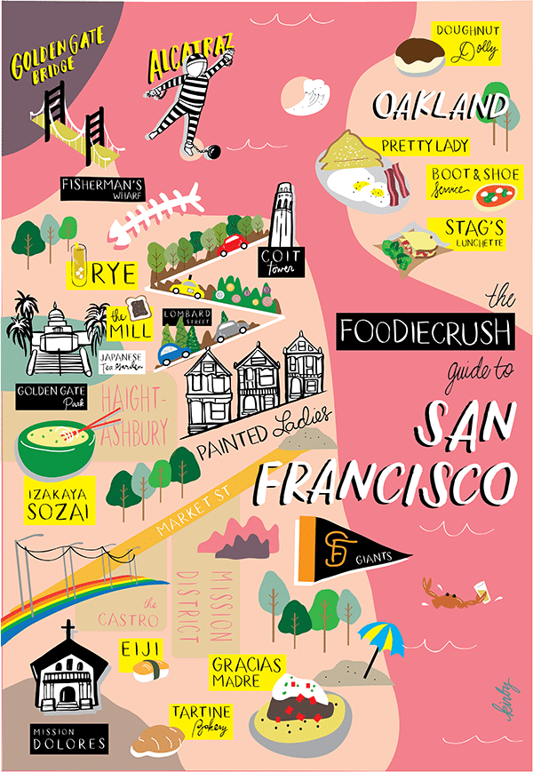 Food Bloggers' Guide of Where to Eat in San Francisco & Oakland, CA   foodiecrush.com
