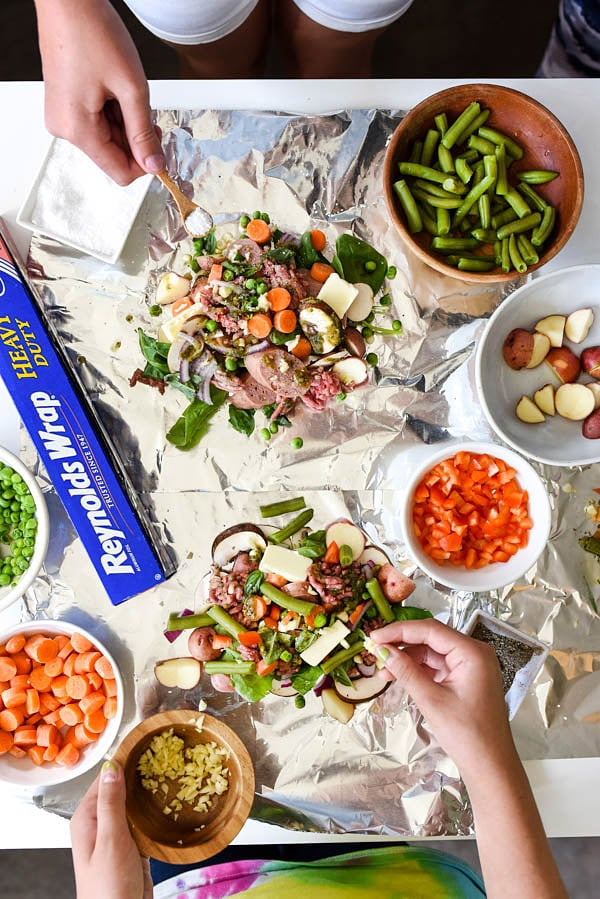 The best diy foil packet dinners for Easy diy lunches