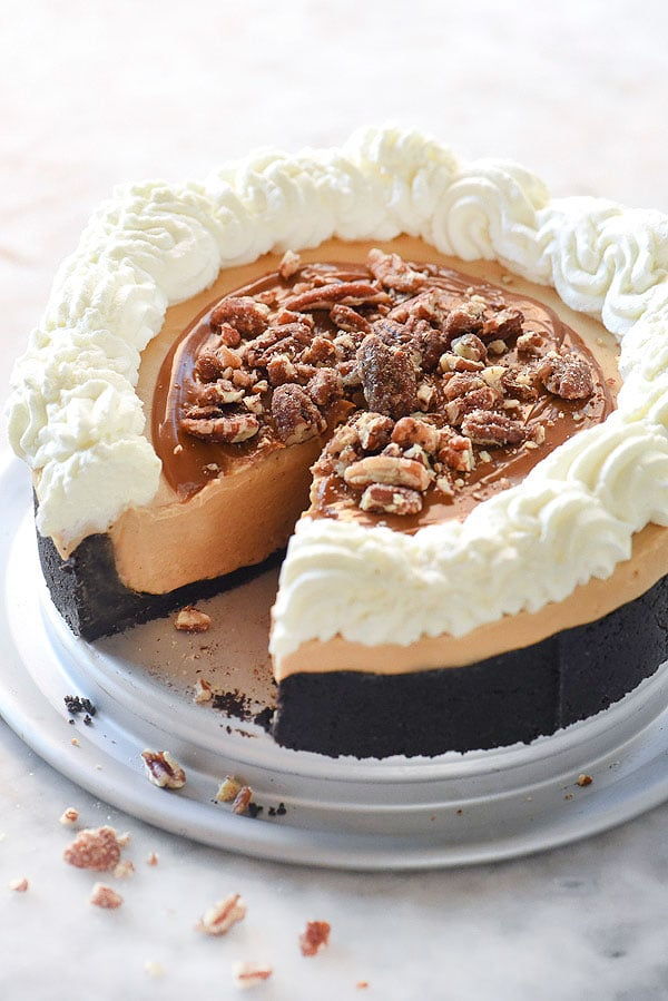 No-Bake Dulce de Leche Pie Recipe With Beyond Frosting