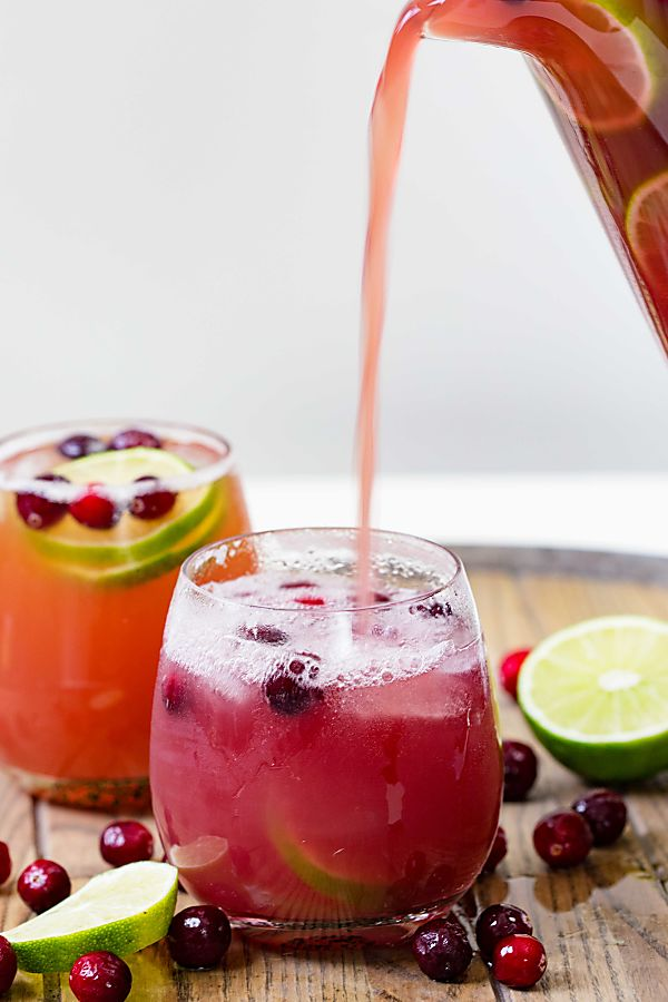 Cranberry Pineapple Punch | Real Housemoms