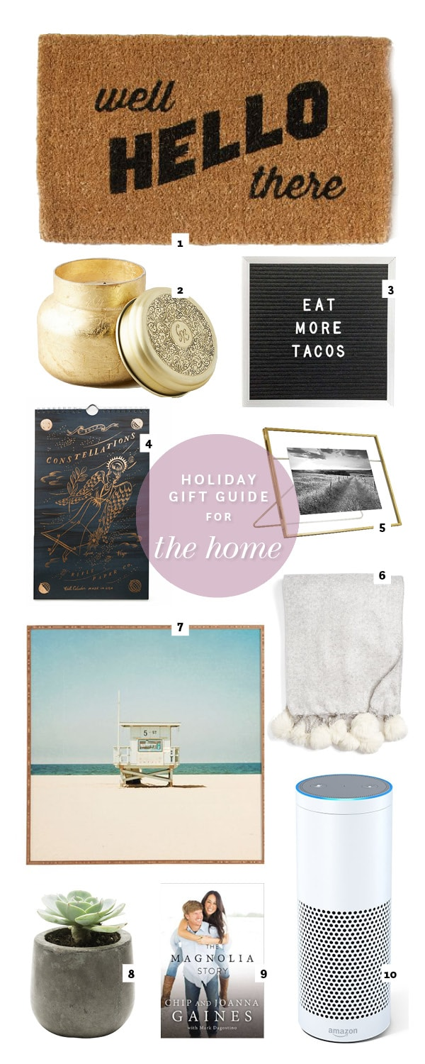 For the Home Gift Guide | foodiecrush.com