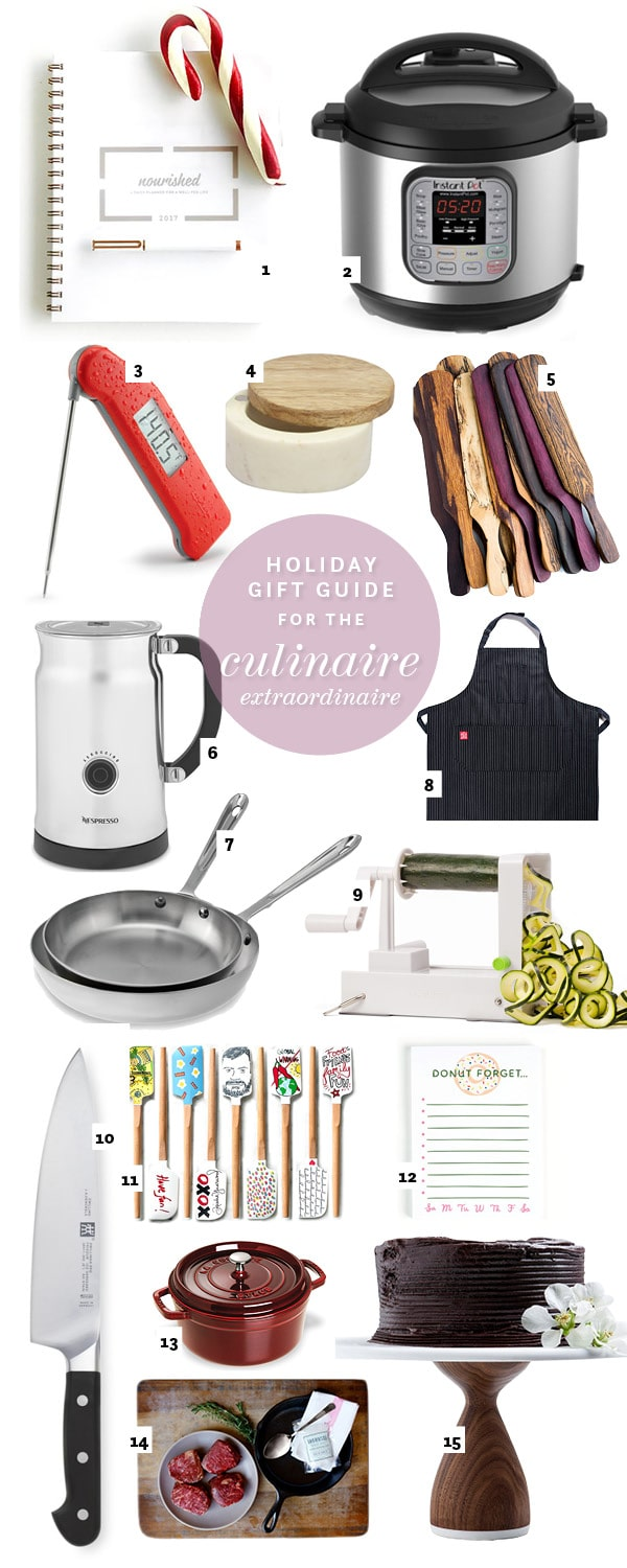 For the Kitchen Holiday Gift Guide | foodiecrush.com