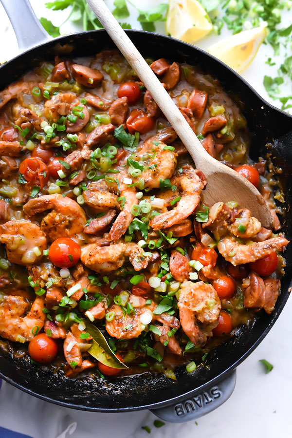 My Favorite Shrimp and Grits Recipe | foodiecrush.com