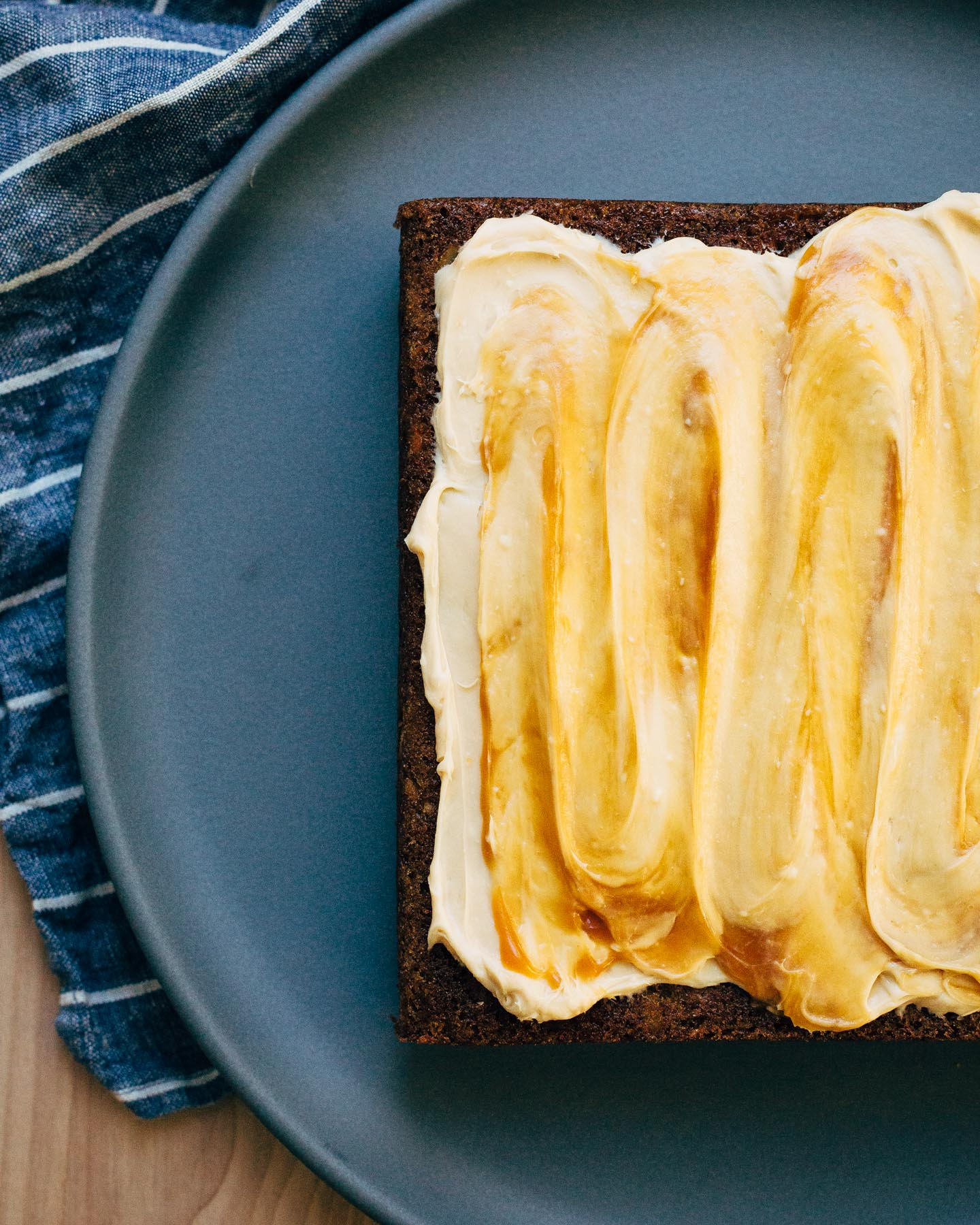 Carrot Cake with Caramel Frosting from brooklynsupper.com on foodiecrush.com