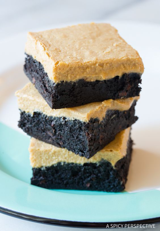 Baileys Irish Cream Coffee Bars from aspicyperspective.com on foodiecrush.com