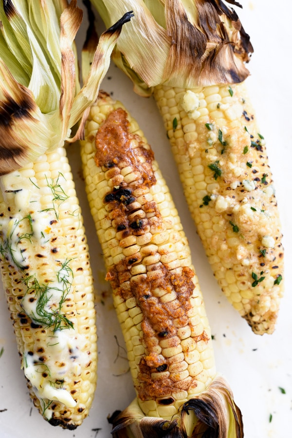 How to Make the Best Grilled Corn | foodiecrush.com