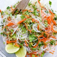 Fresh and Easy Vietnamese Noodle Salad | foodiecrush.com