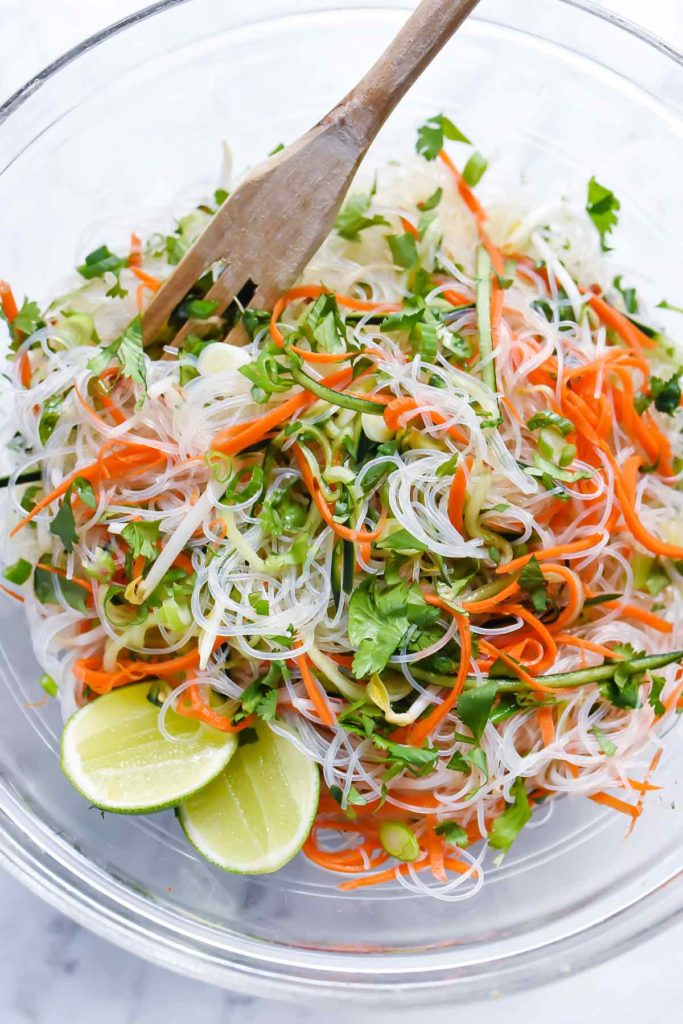 Fresh And Easy Vietnamese Noodle Salad Foodiecrush Com